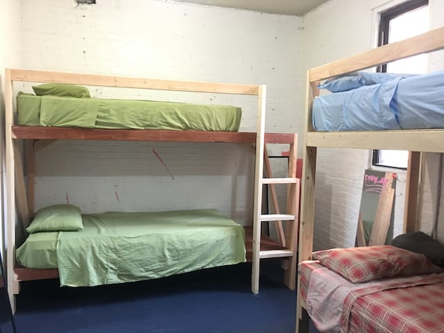 Hostel Shared Mixed bedroom 2. Bed F