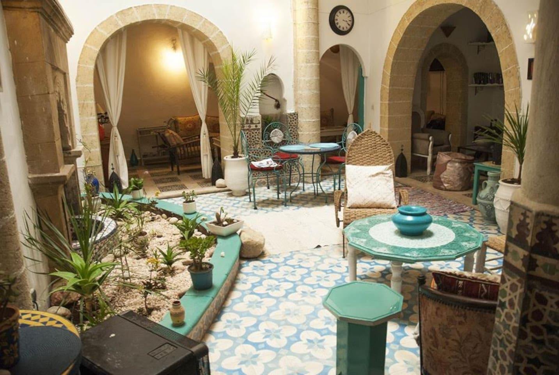 Riad lalla zina - 17 Rue D agadir : 9 chambres - Bed & Breakfast - Beautiful sea view