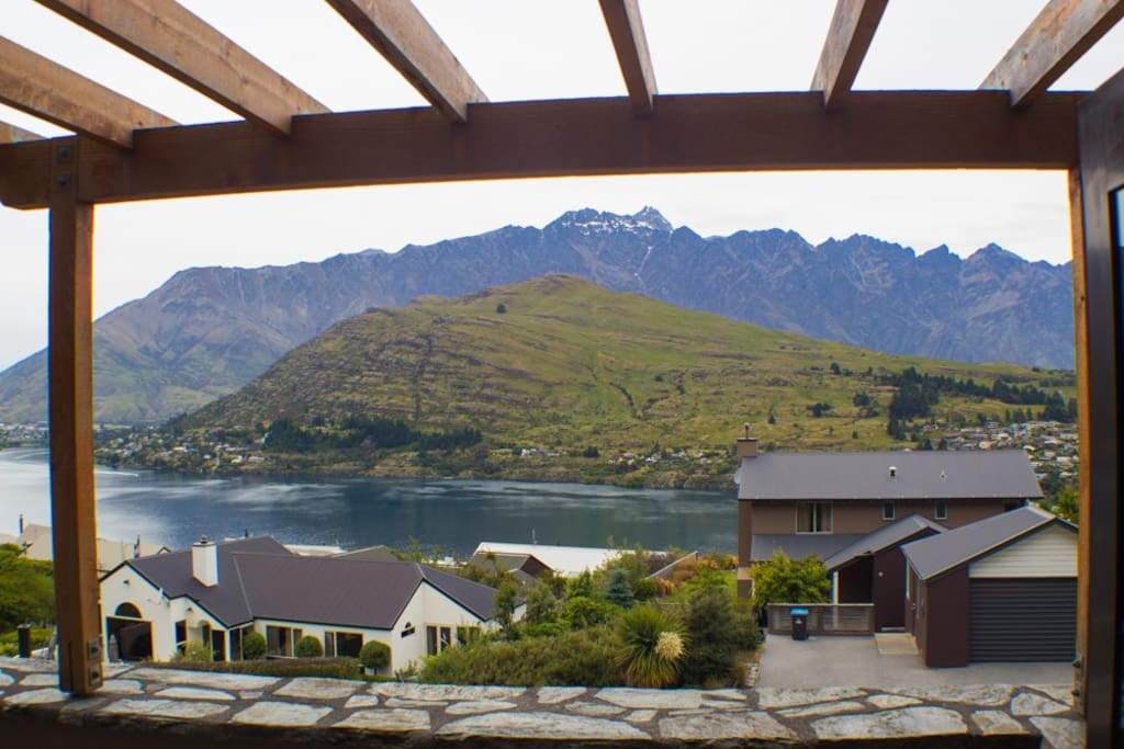 Morning coffee from this stunning view - expect this all year round