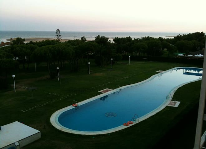 Apartamento 2 hab., piscina,parking - Laguna de El Portil - Apartment
