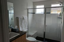 Even the hallway bathroom has a huge walk-in shower and is attached to the 2nd bedroom!