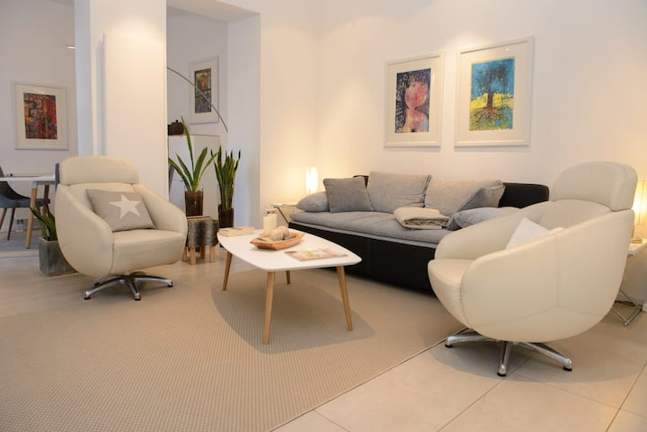 Barrier-free 5 ***** luxury apartment for 2-4 pers