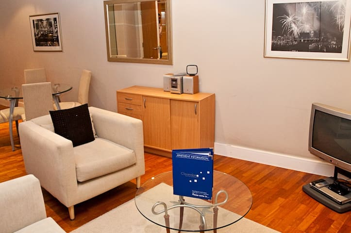 1 bed apartment, Pepys Street, Central London.