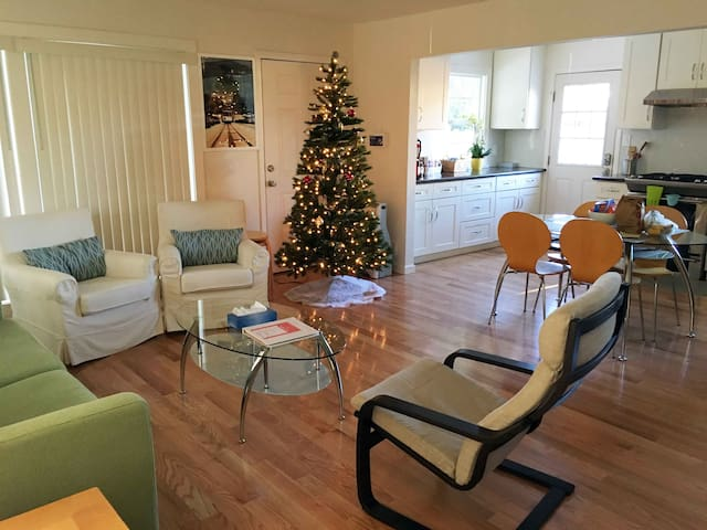 During the Christmas Season (before New Years), come and enjoy a little of the holiday spirit when you stay at our place!