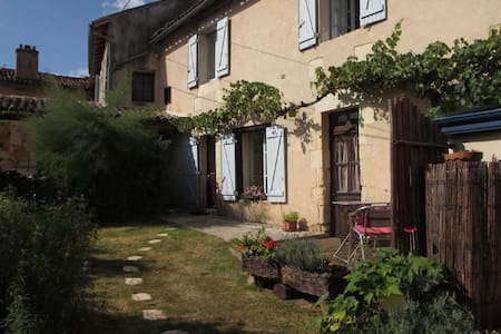 Nice house with a terrace in a little village - Quinçay - Rumah