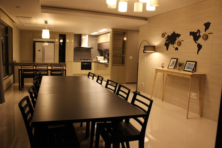 Song for Sharehouse (whole APT, 3rooms for 12 pp) - Incheon - Apartamento