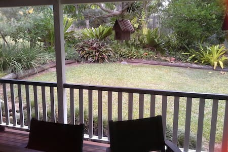 Quiet family home & leafy gardens - Gympie