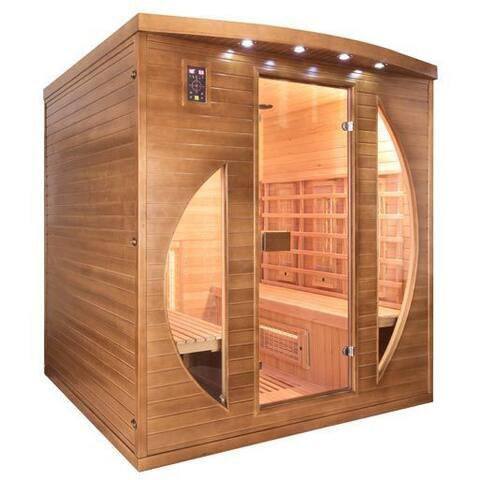 une vue plus complète du sauna