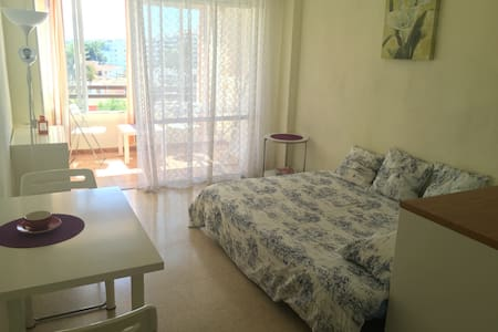 Bright studio close to the beach - Son Caliu