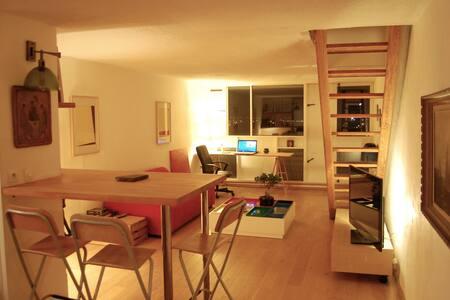 Duplex de 74 m2 à la Maison Radieuse Le Corbusier - Rezé