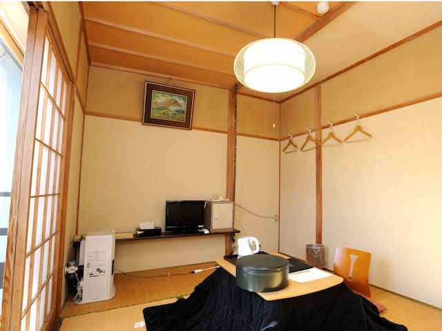 2 people capacity room(和洋室1部屋)