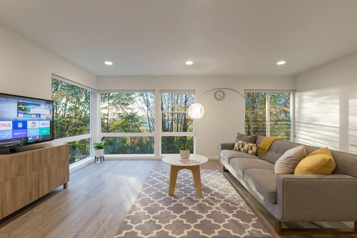 Modern Urban Retreat on top of Beacon Hill