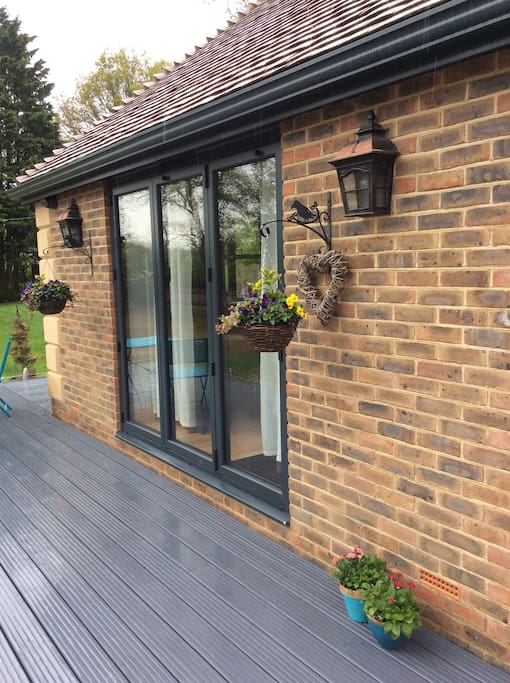 Private Decking area