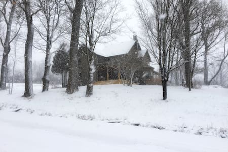 4BR Upstate Victorian Farmhouse Pizza Oven - Rensselaerville - Dom
