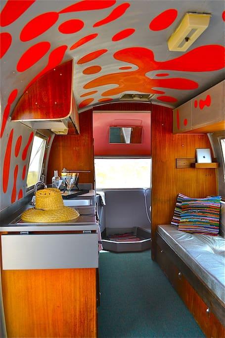 """Hot Lava"" interior"