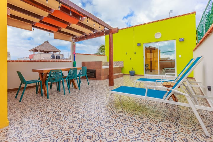 Penthouse In Centro Terrace, Jacuzzi, Up To %25Off