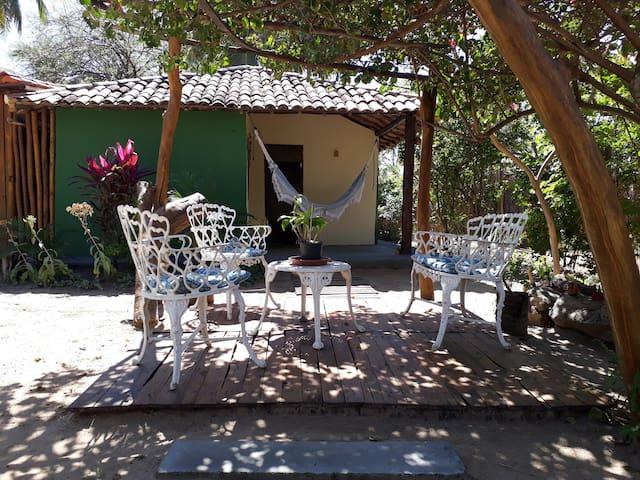 Pousada Recanto Verde,praia de Santo Antônio casa