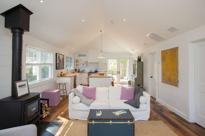 Charming Scandinavian Inspired Beach Cottage
