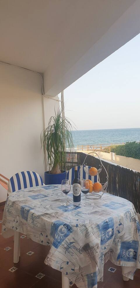 Maravilloso apartamento primera línea de la playa