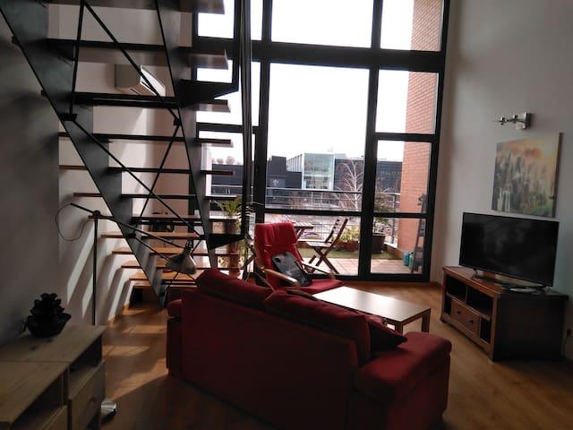 Precioso Loft con amplias vistas mucha luz natural - Tres Cantos - Loft