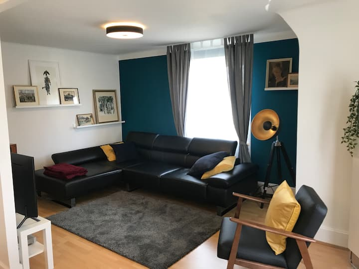 LIGHT AND BRIGHT AWESOME APARTMENT  NEAR BASEL