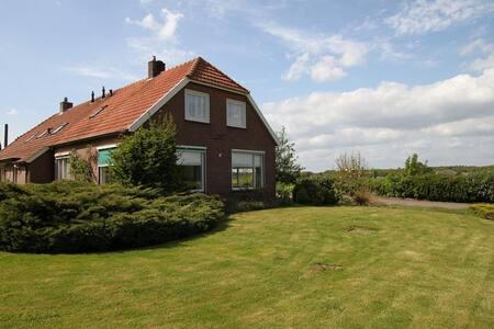 Ruime lichte woonboerderij in het mooie Vechtdal - Ommen - Hus