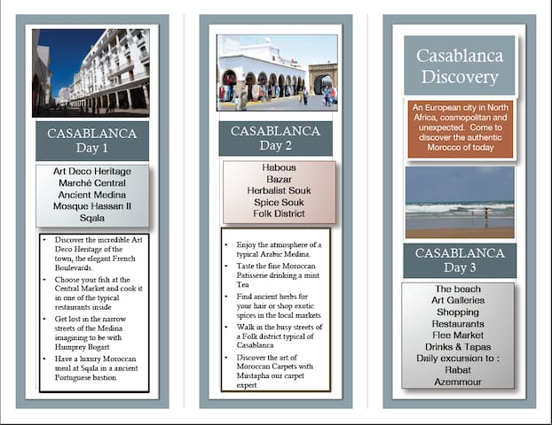 Discovery Casablanca 3 Days program