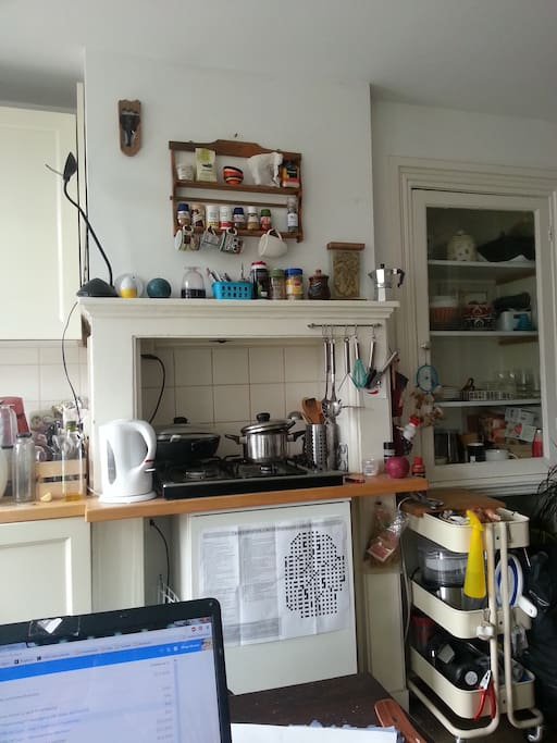 Cute kitchen space right?