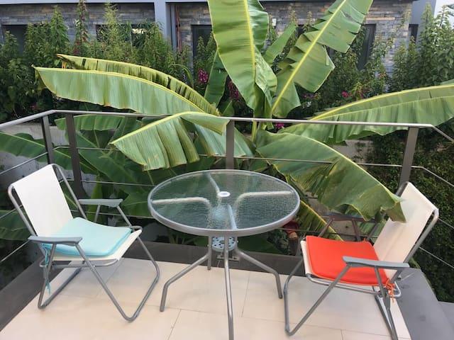 Comfy Room in modern building w/ nice View&Garden