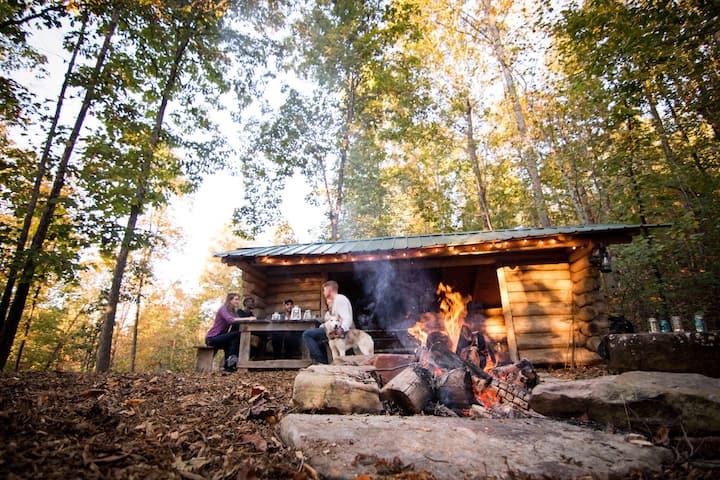 The Mountain Shelter at Hidden Hills Farm