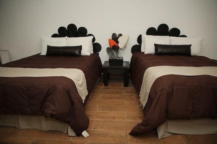 Habitaciones / cabañas hotel chipinque