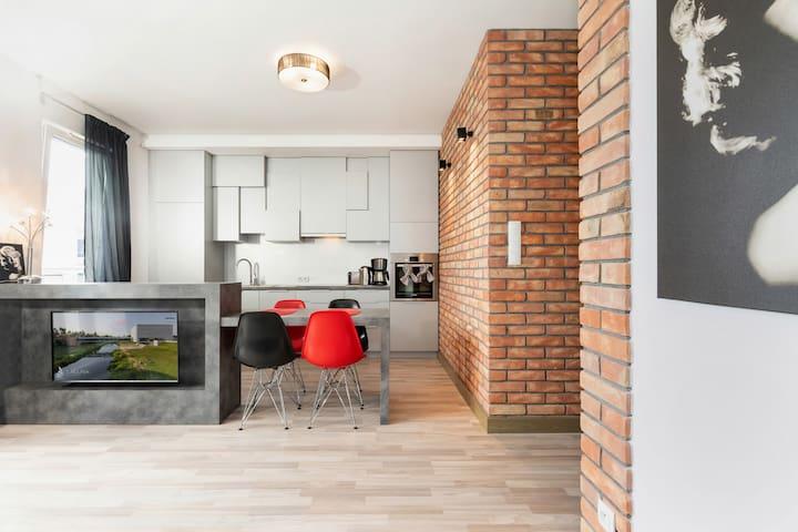 Modern Apartment in Poznań ☆ with Garage!