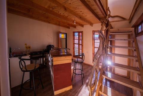 Ładny dom dla 4 osób w odległości kilku metrów od wioski
