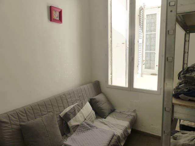 Chambre privé préfecture - Castelane - Marseille - Appartement