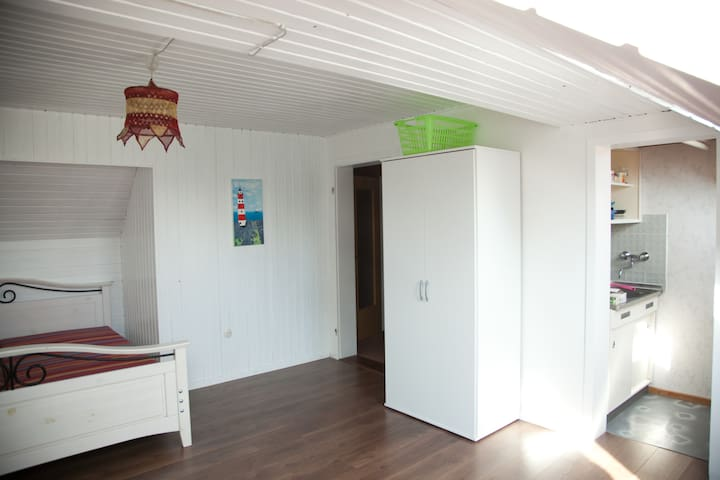 Little apartment at the Ochtum-Park area - 不來梅 - 公寓
