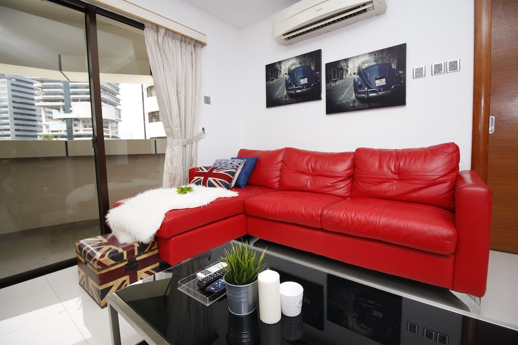 Comfortable sofa in the Living Hall