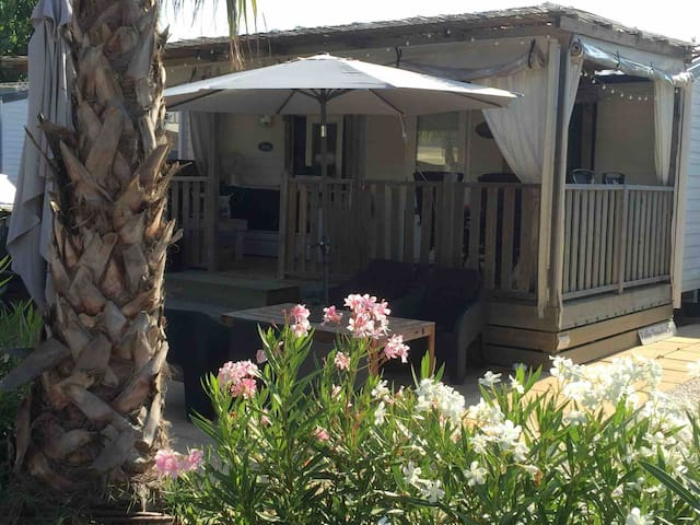Chalet aan zee Ramatuelle/St Tropez op Toison d Or