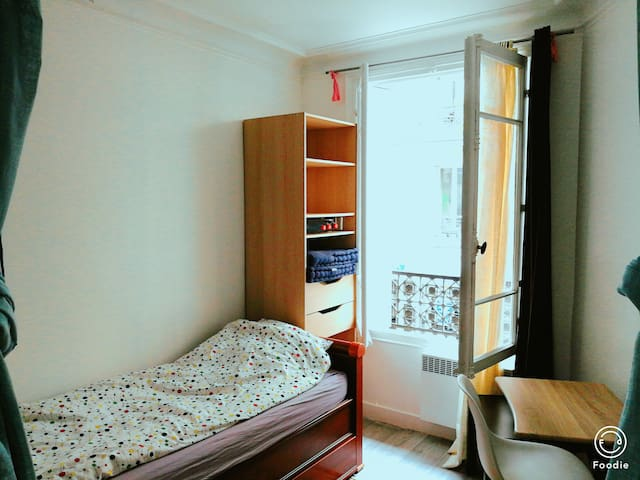 15e Room Metro Dupleix 10 mins walk Eiffel Tower