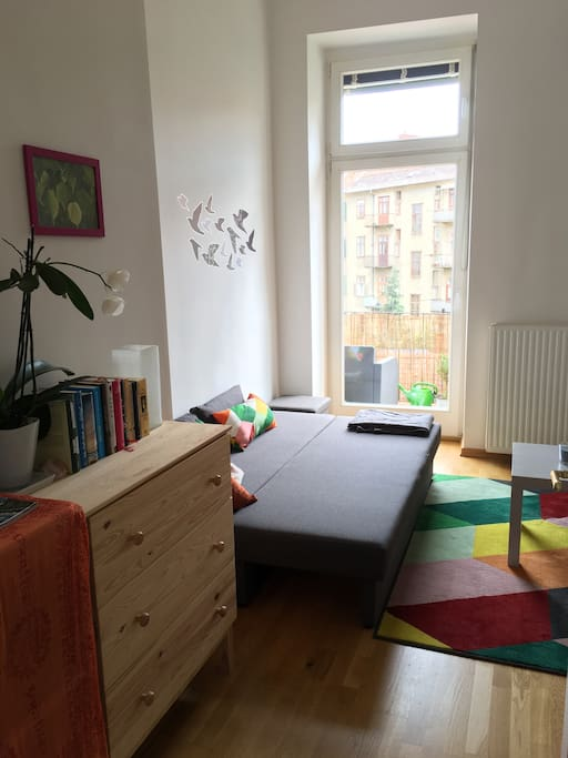 Dein Zimmer mit Balkon - your room with balcony in the yard