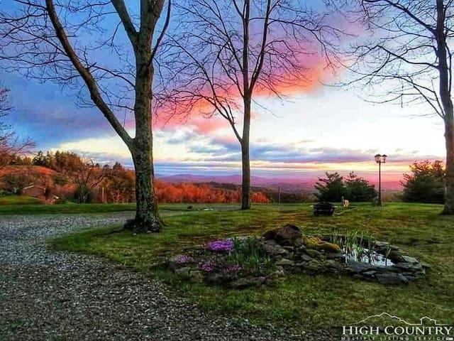 Blue Ridge Mountain Sunrise Paradise Luxury Home
