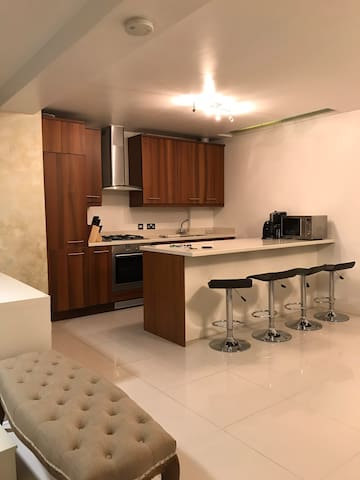 Stylish, slick abode in South Kensington