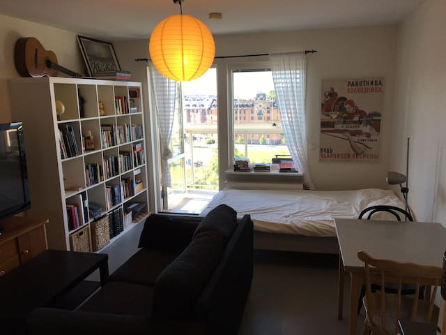 Studio apartment with great view - Stockholm - Apartemen