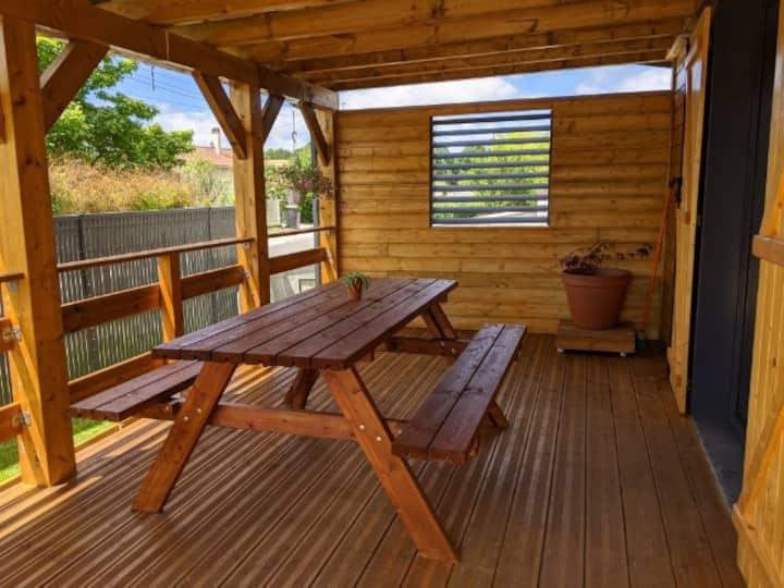 Gite Jade (Maison en bois 50 m2)