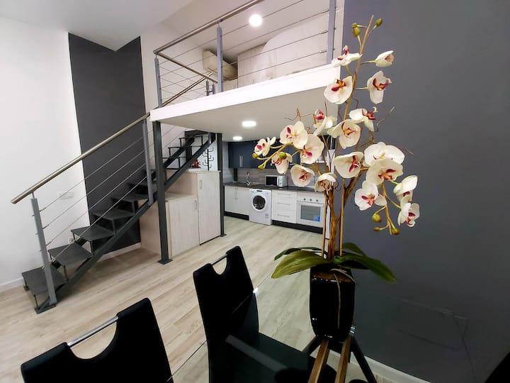 Apartamento-Loft. en Barrio del Pilar