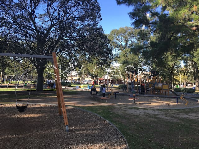 One of the best playgrounds for kids in the CBD