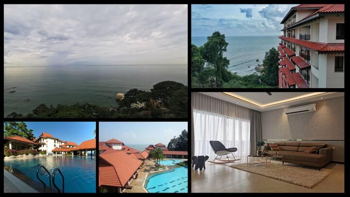 Full Seaview Kuantan Tembeling Resort 3Bedrooms L4