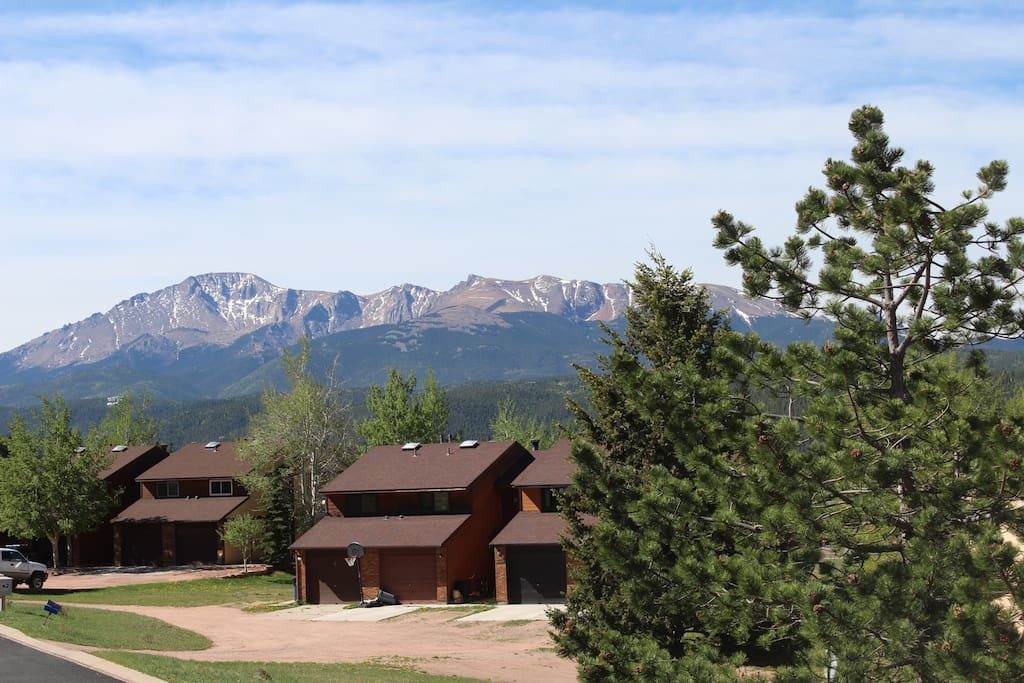 View of Pike's Peak from the Master bedroom