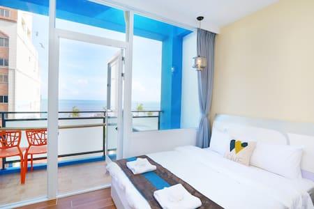 海景雙人房(B)-緊鄰市區的旅人窩 - Hualien City
