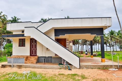 "Beach Castles ""Giri Rukmani Beach House""."