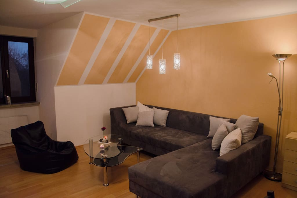 Central cozy 2 room apartment 64 m apartments for for Augsburg apartments for rent